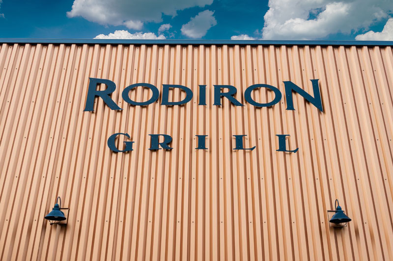 Work in Sidney Montana at the Rodiron Grill restaurant